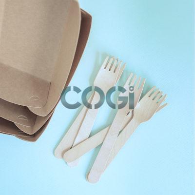 Nĩa Gỗ Dùng Một Lần 16cm