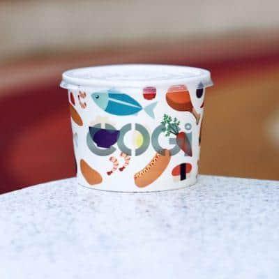 Tô giấy đựng thức ăn -22oz
