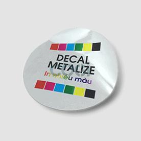 DECAL METALIZE - DECAL XI