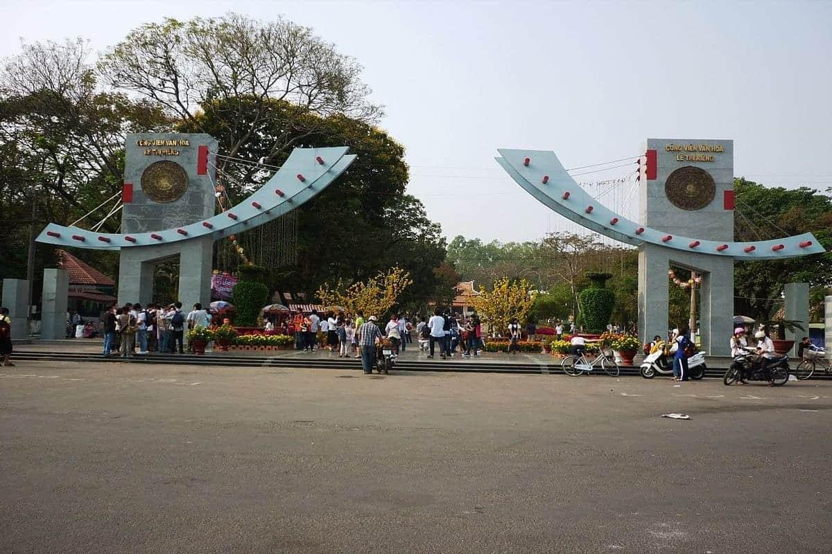 10 địa điểm vui chơi trung thu ở Sài Gòn-Công viên Lê Thị Riêng