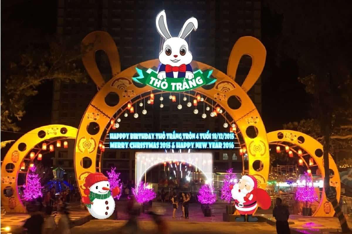 10 địa điểm vui chơi trung thu ở Sài Gòn-Công viên Thỏ Trắng